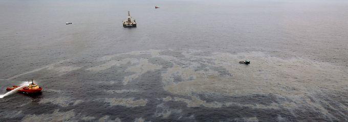 Erneutes Ölleck vor der Küste Brasiliens.