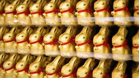 150 Millionen Goldhasen hat Lindt allein in diesem Jahr fürs Ostergeschäft produziert.