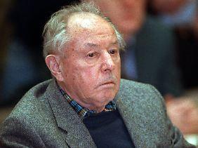 Mielke war von 1957 bis 1989 Stasi-Chef. (Archivfoto vom 11. März 1992)