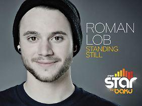 """Die aktuelle Single und unser Song für Baku: """"Standing Still""""."""