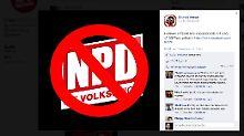 Da freut sich der Storch: Die NPD-Seite war stundenlang nicht erreichbar.