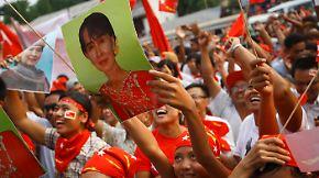 Wahlen in Birma: Suu Kyi erringt Parlamentssitz