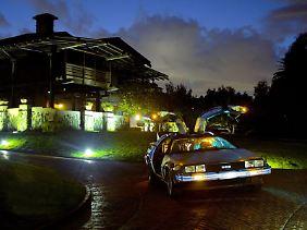 In nur fünf Sekunden beschleunigt der DeLorean auf 100 km/h.