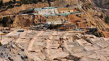 Steine des Anstoßes: Seltene Erden in einer in einer Mine in Ganxian.