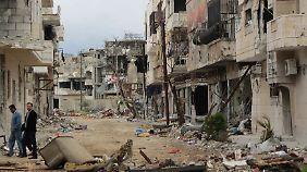 Kaum Hoffnung auf Feuerpause: China verschärft Ton gegenüber Syrien