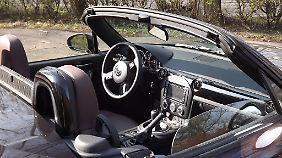 Erstmals zum Einsatz kommt in einem MX-5 das Mazda SD-Navigationssystem mit Tom-Tom®-Technologie.