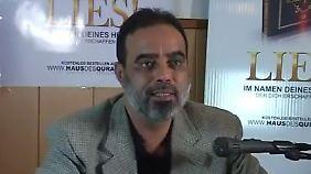 "Die Aktion ""Lies!"" hat Ibrahim Abu Nagie gestartet."