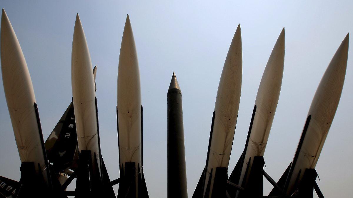 Südkorea rüstet Raketen auf