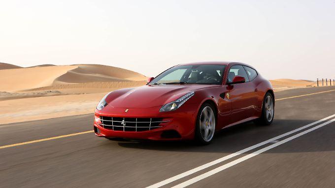 Lammfromm - aber nur auf den ersten Blick: der neue Ferrari FF.