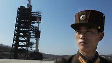 Nordkorea rüstet sich hoch: Kim treibt Rakete voran