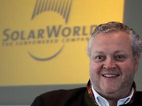 """Das """"Solar-Monopol"""" wäre für Peking noch wertvoller, """"als auf allen Öl- und Gasvorräten der Erde zu sitzen"""", sagt Frank Asbeck."""