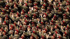 "100. Geburtstag des ""ewigen Führers"": Nordkorea huldigt Kim-Familie"