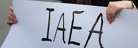 Die Internationale Atomenergiebehörde IAEA wird im Iran kritisch gesehen.