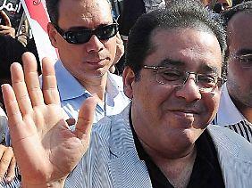 ... und der Vorsitzende der liberalen Ghad-Partei Aiman Nur.