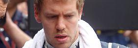 """""""Wo ist der Marsmensch geblieben?"""" Sebastian Vettel."""