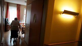 In einem Altenheim in Köln.