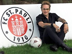 Eine Leidenschaft, die auch mal wehtun kann: Bela B. ist Fan des FC St. Pauli.