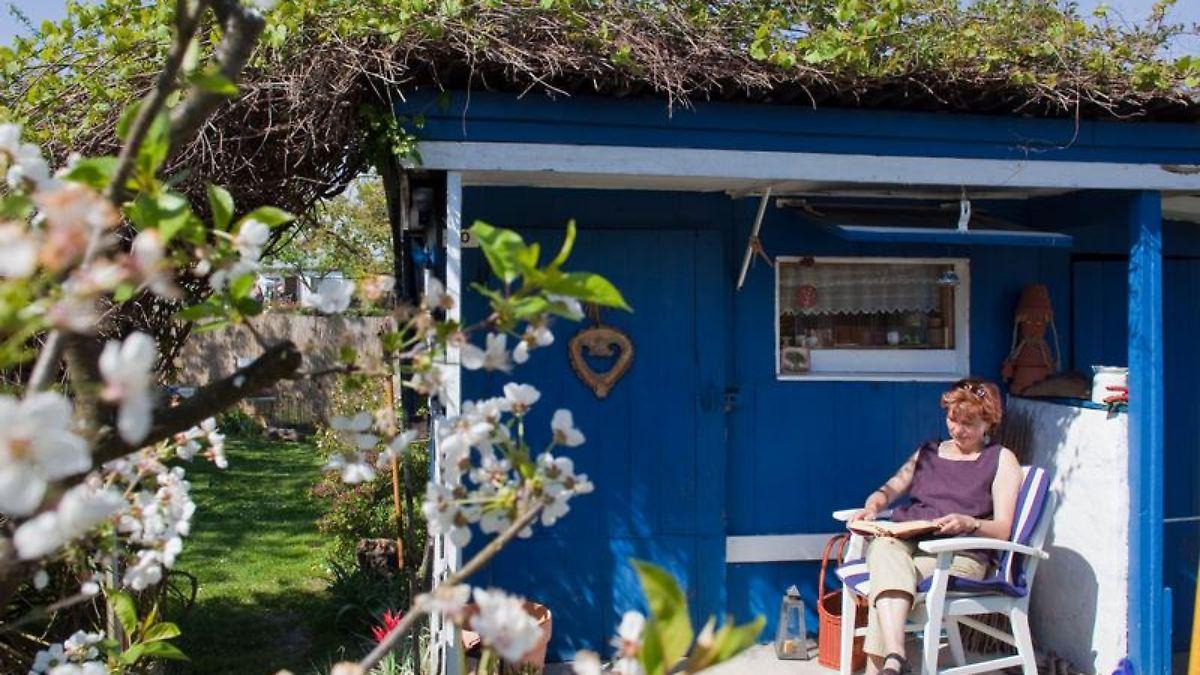 Bauen Genehmigung Für Gartenhäuser Auf Die Größe Kommt Es An N Tvde