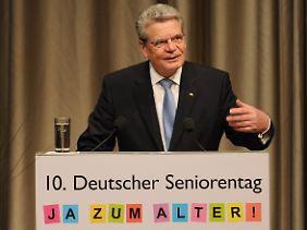 """Gauck: Niemanden sollte Unzumutbres zugemutet werden."""""""