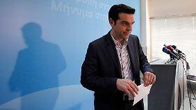Tsipras werden gute Verbindungen zur Partei Die Linke nachgesagt.