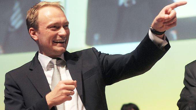 Da geht's hin: Für viele ist Lindner wegweisende Figur für die Zukunft der Liberalen.