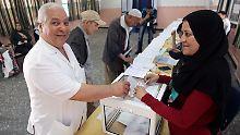 Von 21 Millionen Wahlberechtigten gingen etwa 8 Millionen an die Wahlurne - unterm Strich 42,4 Prozent.
