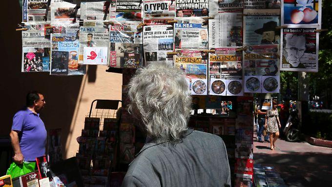 Die Angst in Athen wächst sich langsam zu Panik aus.