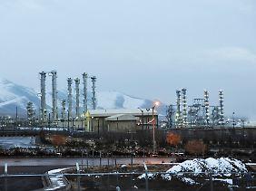 Eine der umstrittenen Atomanlagen steht in der zentraliranischen Stadt Arak.