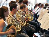 Das Gehör von Orchestermusikern ist gefährdet.