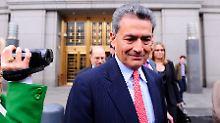 Ex-McKinsey-Chef Rajat Gupta drohen 100 Jahre Haft wegen Insiderhandel.