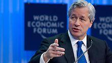 JP-Morgan-Chef Jamie Dimon: Laut einem Medienbericht sollen die Verluste aus den geplatzten Finanzwetten inzwischen sieben Milliarden Dollar betragen.