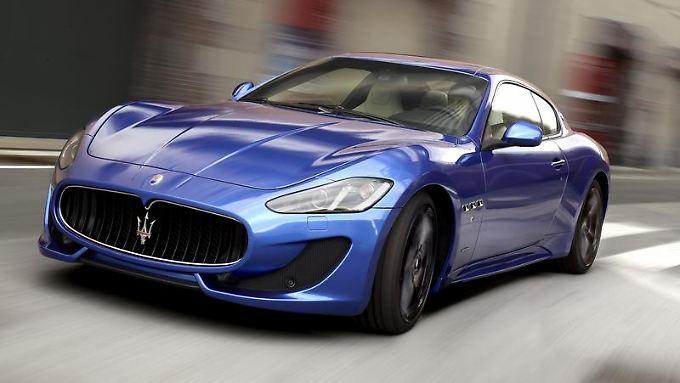 Stärker und schneller:Der Maserati GranTurismo Sport löst die frühere S-Variante des zweitürigen Coupés ab.