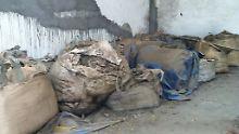 Dieser Giftmüll aus dem indischen Bhopal soll nach Deutschland entsorgt werden.