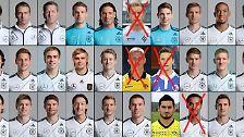 Löws EM-Kader: Diese Fußballer spielen für Deutschland