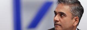 Anshu Jain schickt Rechtsexperten Leithner zum Finanzausschuss.