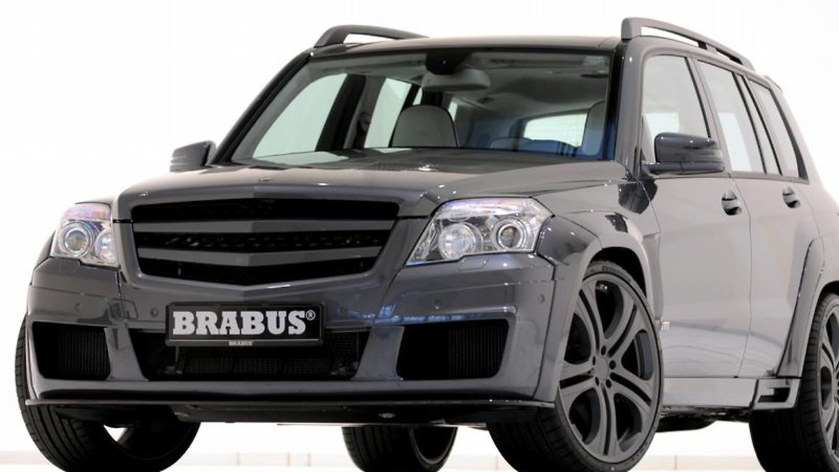 brabus tunt mercedes glk schnellstes suv der welt n. Black Bedroom Furniture Sets. Home Design Ideas