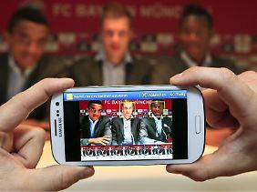 Gesichter erkennt das Galaxy S3 auf Fotos automatisch. Nutzer können getaggte Bilder einfach teilen oder verschicken.