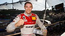 Mortara (hier 2011 im Münchner Olympiastadion) freut sich über seine erste Pole Position.