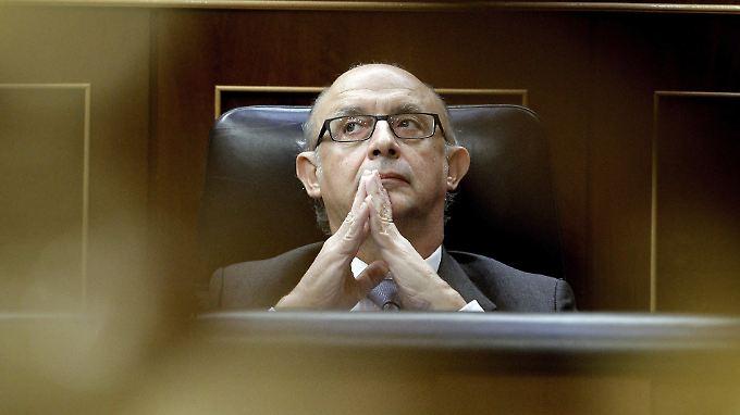 """""""Die Zukunft des Euro steht auf dem Spiel"""", sagt Finanzminister Montoro."""