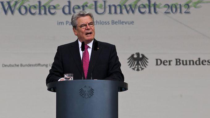Fühlt sich in jedem Ressort zu Hause: Bundespräsident Gauck.
