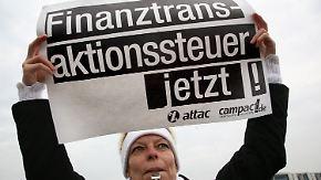 Börsensteuer nicht vor Herbst 2013?: Opposition spricht von Vertrauensbruch