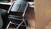 Mit diesem Stuhl hätte man ohne Zweifel seine Gäste beeindrucken können.