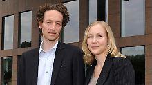 Lars und Meike Schlecker.
