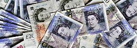 Geld für die Wirtschaft. Großbritannien will die Konjunktur in Schwung bringen.