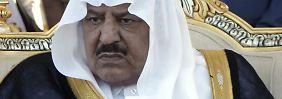Kronprinz Najef bin Abdulasis al-Saud
