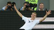 Über Dänemark ins EM-Viertelfinale: Podolski legt Grundstein per Schnapszahl