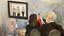 Die Anhörung wurde per Videoschalte durchgeführt.