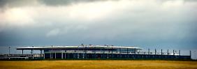 Großflughafen zu klein: Im BER wird es eng