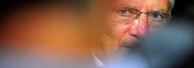 """Schäuble: """"Bislang haben die Mitgliedsstaaten in Europa fast immer das letzte Wort. Das kann nicht so bleiben."""""""