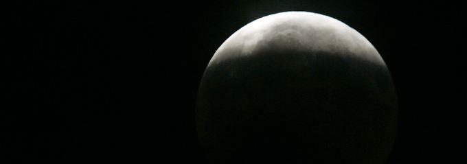 Diese partielle Mondfinsternis war Mitte August über Leipzig zu bewundern.